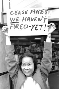 Cease fire? We haven't fired - YET!