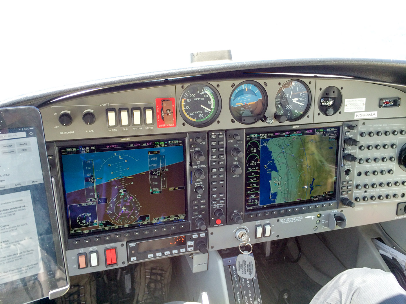 Diamond Star DA-40 Panel