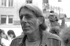 Michael Delacour, one of the leaders of the protests (as opposed to the riots).