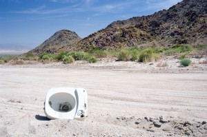 The toilet bowl in the middle of nowhere (Sheep Hole Pass)