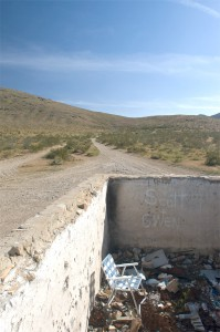 The junk at Stoddard Wells, California