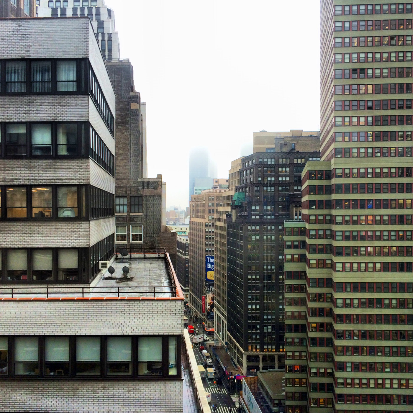 The View From The 19th Floor, 40th and Broadway, New York