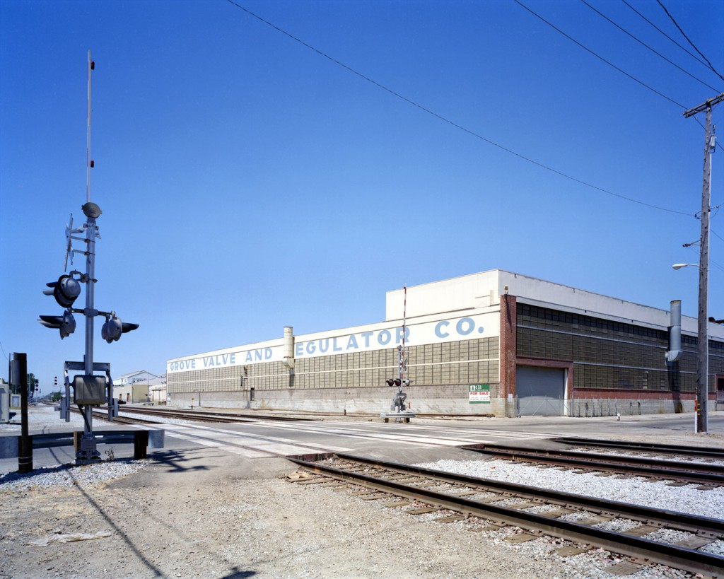 The Grove Valve and Regulator Co. Building, 65th Street, Emeryville, late 1990's or early 2000's. Now the Emerytech building,