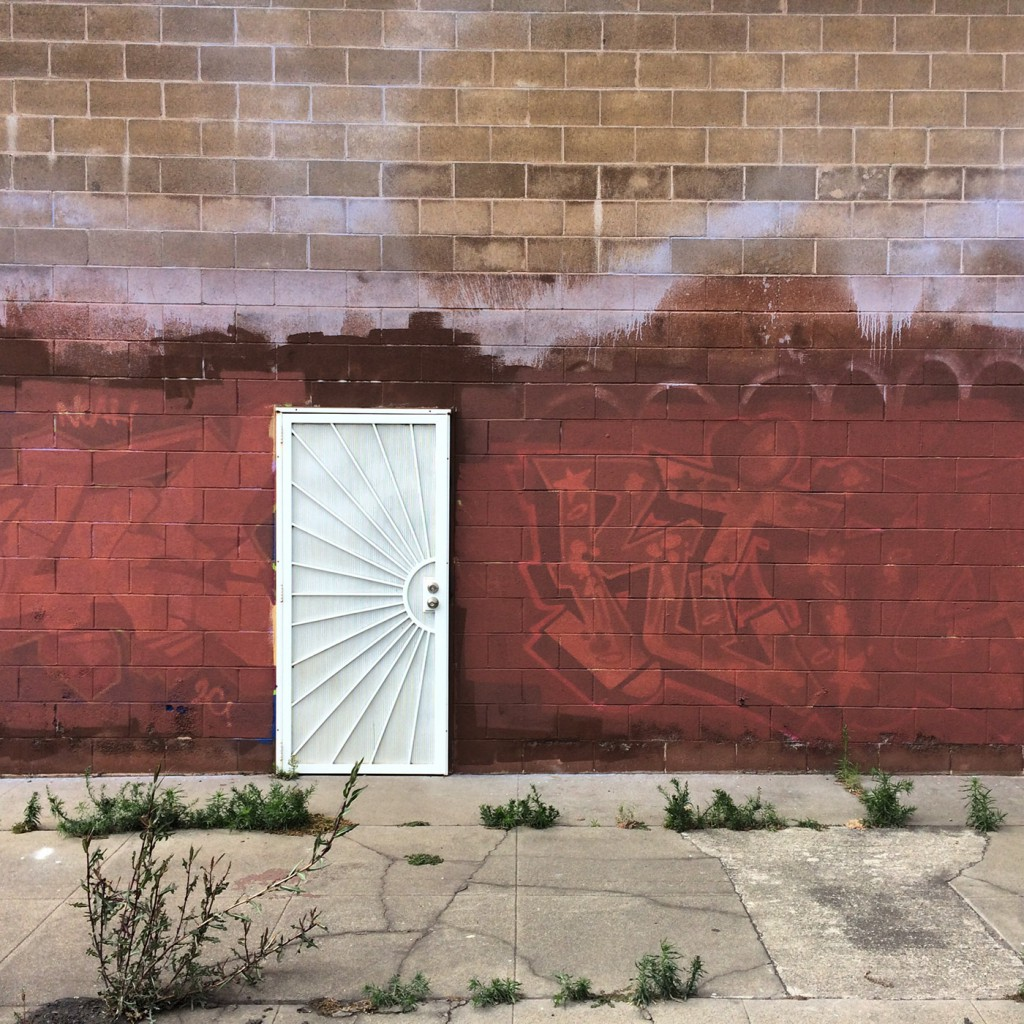 The White Door (East 10th and 29th Avenue, Oakland, California)