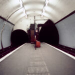 Angel Underground (Part of Under London, photos of London Underground from the 1980's)