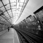 Euston (Part of Under London, photos of London Underground from the 1980's)